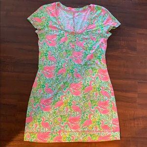 Lilly Pulitzer Flamingo Dress